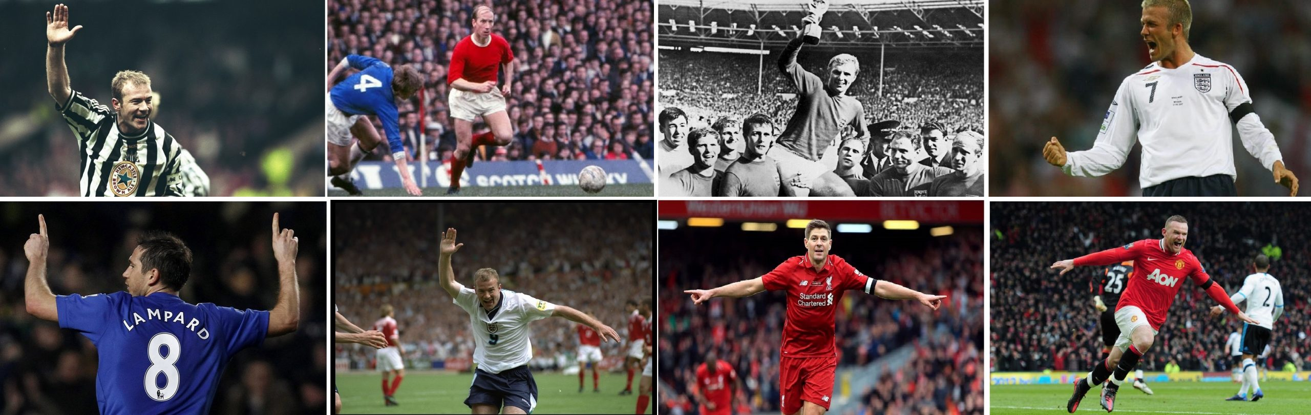 The 10 Best English Players Of All Time