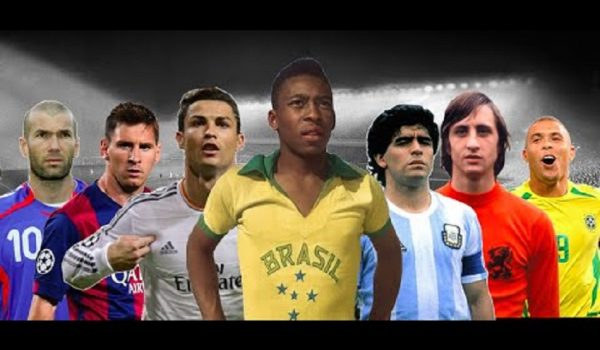 Best soccer players of all time